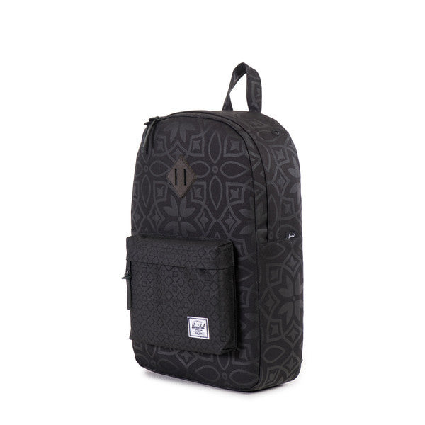 Herschel Supply Co. - Heritage Backpack, Black Khatam - The Giant Peach