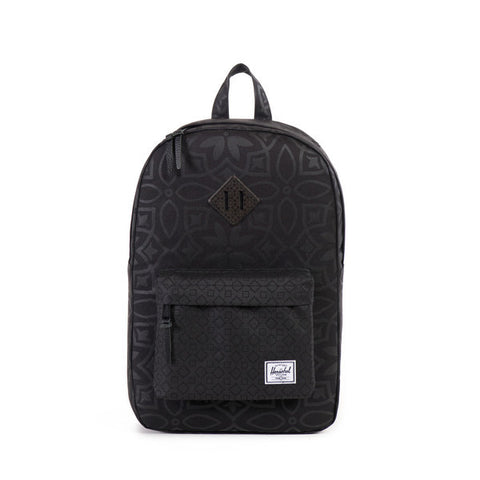 Herschel Supply Co. - Heritage Backpack, Black Khatam
