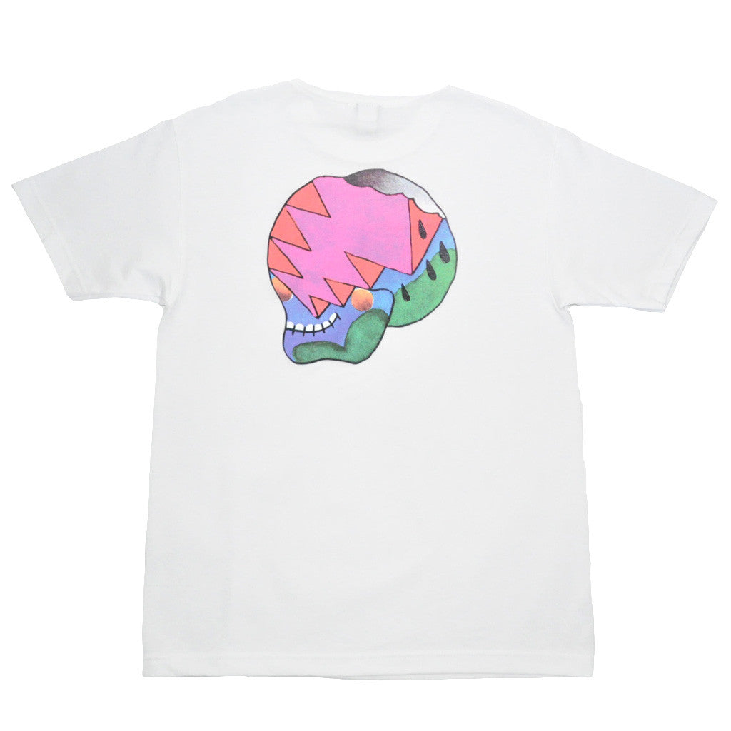 The Quiet Life - Herndon Skull Men's Shirt, White - The Giant Peach