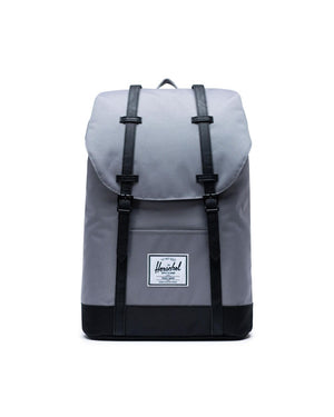 Herschel Supply Co. - Retreat Backpack, Grey/Black