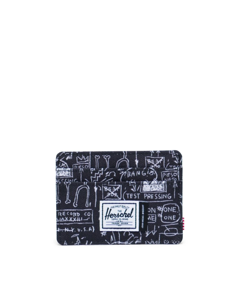 Herschel Supply Co. x Basquiat - Charlie Wallet,  Basquiat Beat Bop