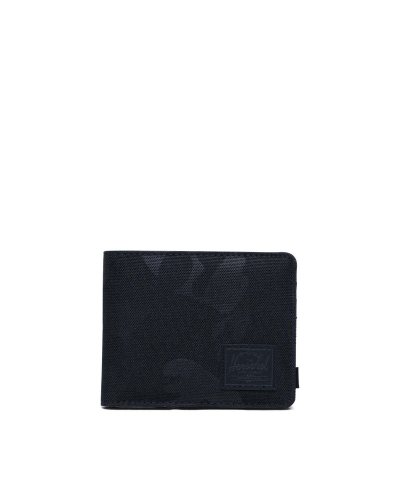 Herschel Supply Co - Roy+ Wallet, Black Tonal Camo
