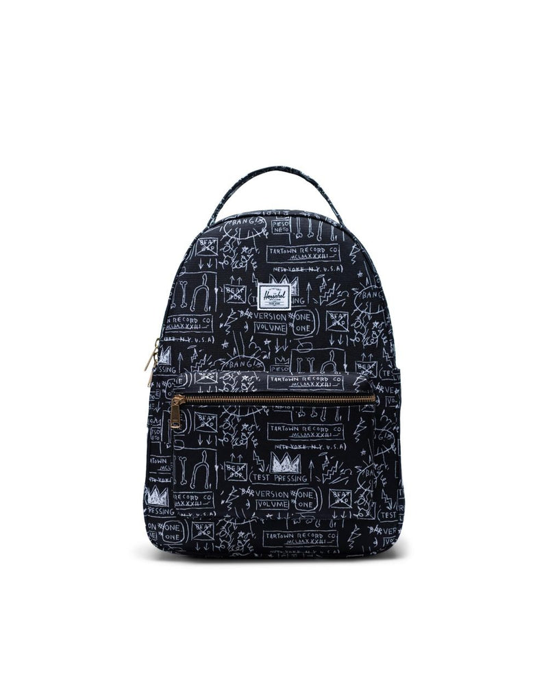 Herschel Supply Co. x Basquiat - Nova Mid Volume Backpack, Basquiat Beat Bop