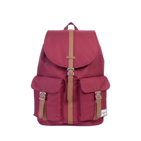 Herschel Supply Co. - Dawson Backpack, Windsor Wine/Tan - The Giant Peach - 1