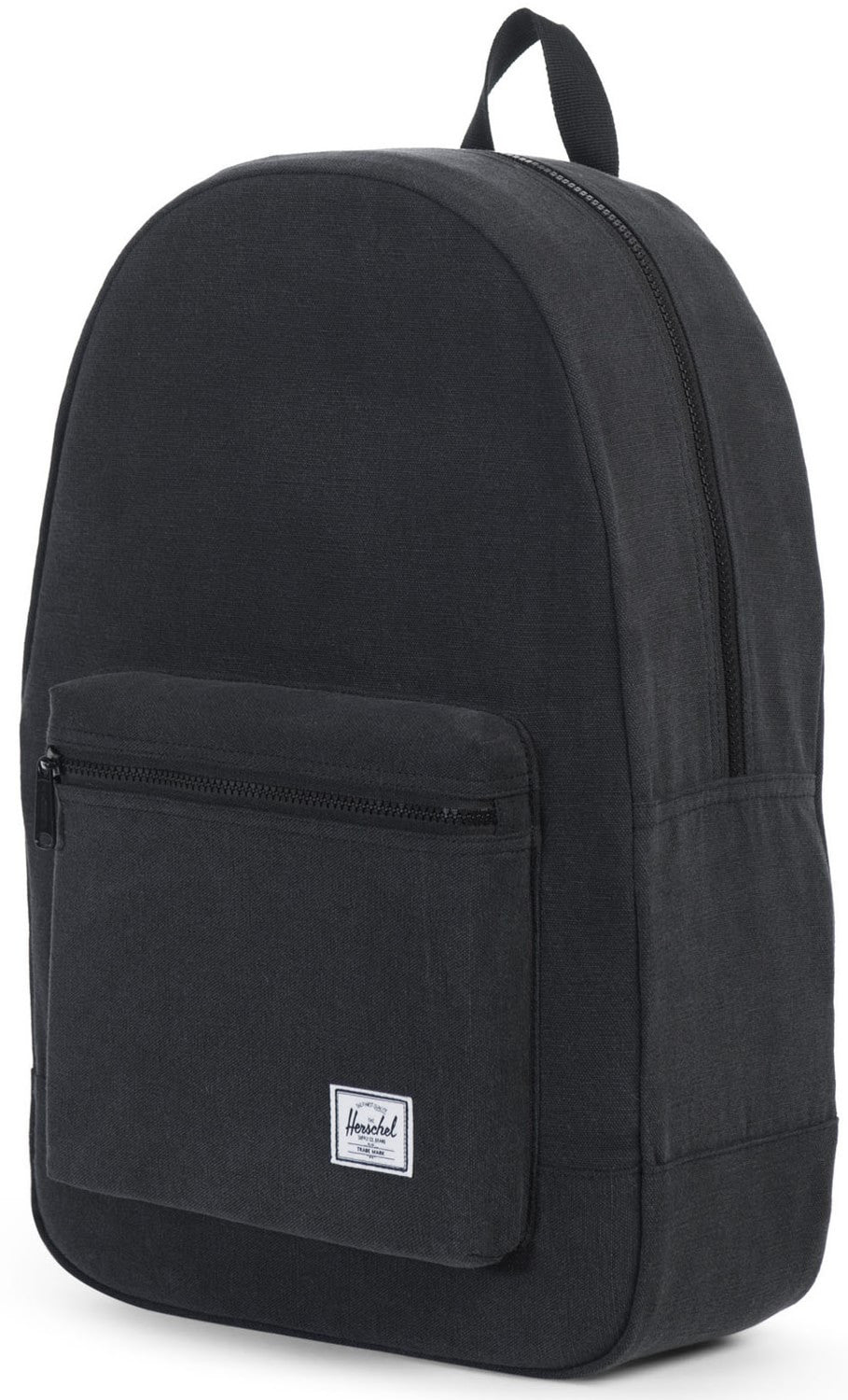 Herschel Supply Co. - Packable Daypack, Black Canvas - The Giant Peach - 2