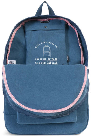 Herschel Supply Co. - Packable Daypack, Navy Canvas