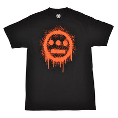delHIERO - Splatter  Men's Shirt, Black - The Giant Peach - 1