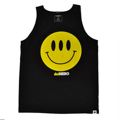 delHIERO - Hiero Day Men's Tank Top, Black - The Giant Peach - 1