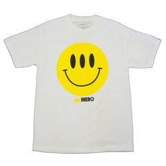 delHIERO - Hiero Day Men's Shirt, White - The Giant Peach - 1