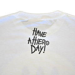 delHIERO - Hiero Day Men's Shirt, White - The Giant Peach - 2