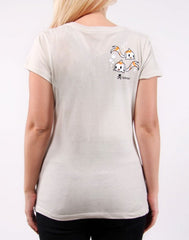 tokidoki - Hikari Women's Tee, Grey - The Giant Peach - 2