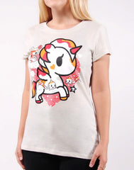 tokidoki - Hikari Women's Tee, Grey - The Giant Peach - 3