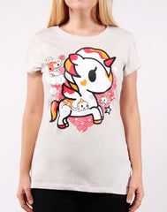 tokidoki - Hikari Women's Tee, Grey - The Giant Peach - 1