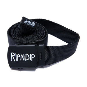 RIPNDIP - Logo Web Belt, Black