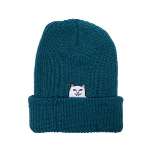 RIPNDIP - Lord Nermal Men's Beanie, Teal