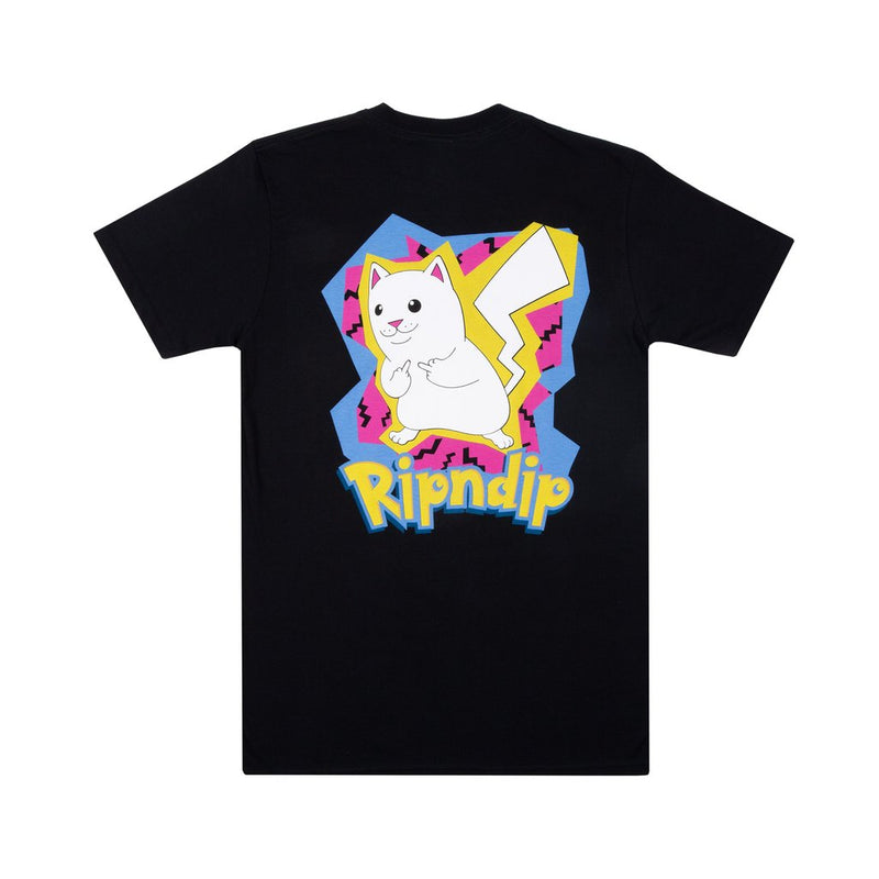 RIPNDIP - Catch Em All Men's Tee, Black