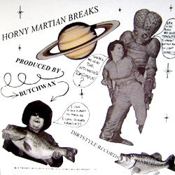 Butchwax - Horny Martian Breaks, LP Vinyl
