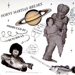 Butchwax - Horny Martian Breaks, LP Vinyl - The Giant Peach