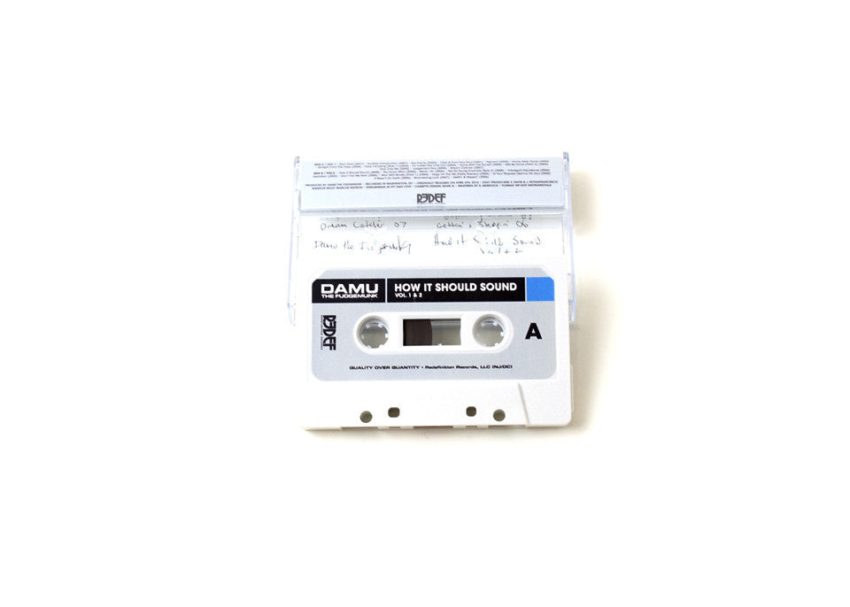 Damu The Fudgemunk - How It Should Sound Vol. 1 & 2, Cassette - The Giant Peach