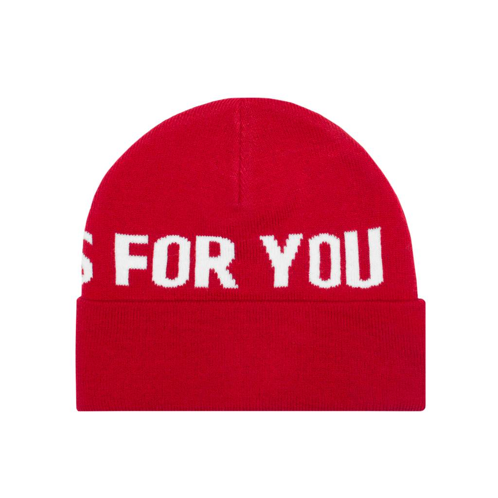 HUF x Budweiser Buds For You Beanie, Red