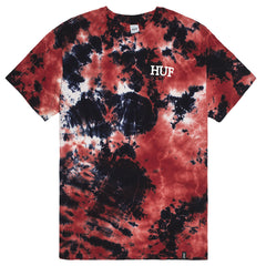 HUF - By The Gram Bloodwash Men's Tee, Red/Black - The Giant Peach - 1