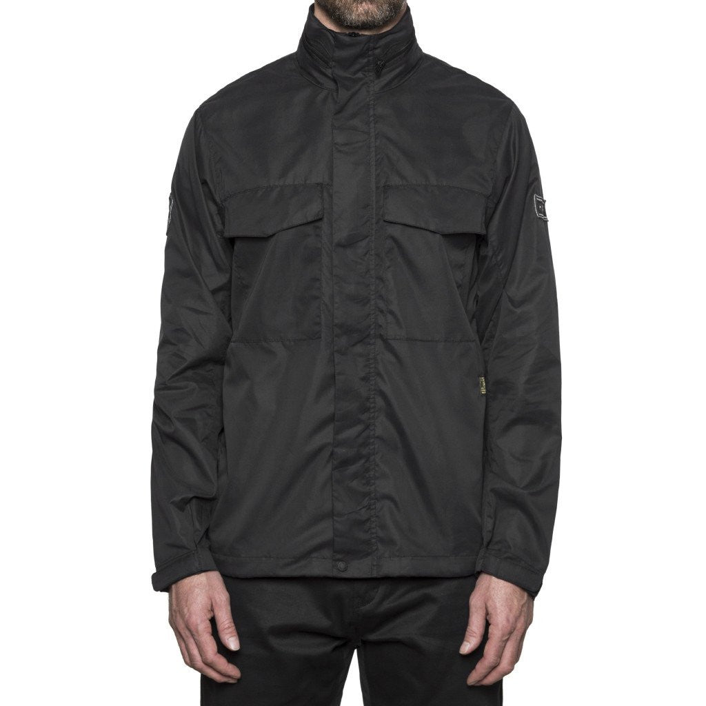 HUF - Bickle M65 Tech Men's Jacket, Black - The Giant Peach - 1