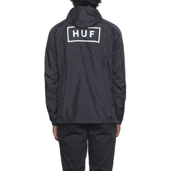 HUF - Adapt Packable Men's Anorak, Black - The Giant Peach - 2