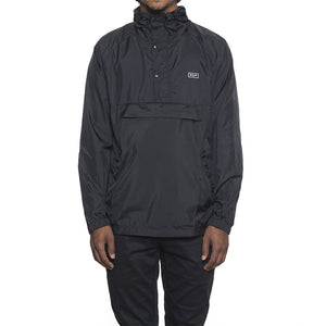 HUF - Adapt Packable Men's Anorak, Black - The Giant Peach