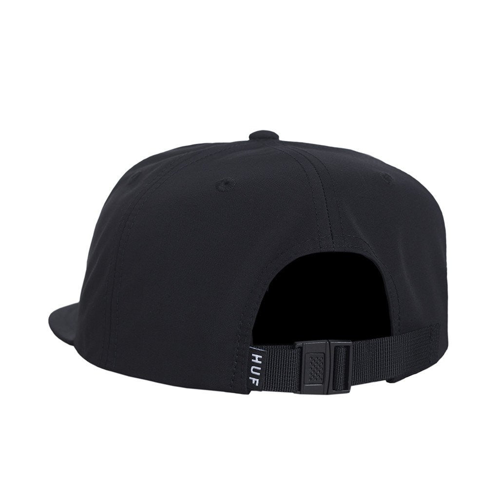 HUF - Bar Logo 60/40 Strapback Hat, Black - The Giant Peach - 3