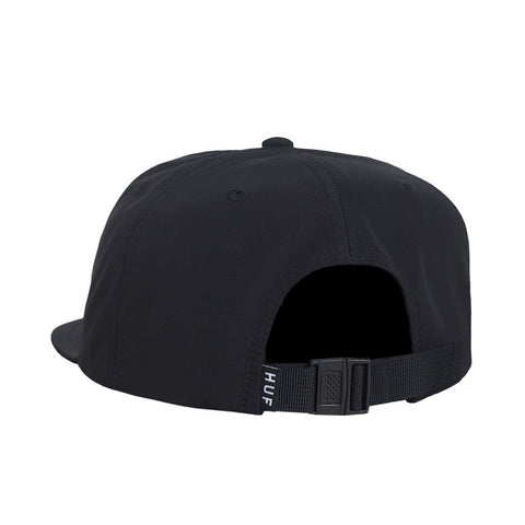 HUF - Bar Logo 60/40 Strapback Hat, Black
