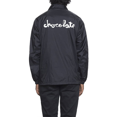 HUF x Chocolate Chunk Men's Coaches Jacket, Black