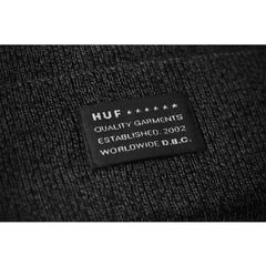 HUF - Mixed Yarn Beanie, Charcoal - The Giant Peach