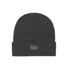HUF - Mixed Yarn Beanie, Charcoal - The Giant Peach - 1
