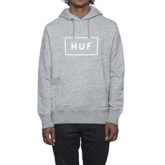 HUF - Open Bar Men's Pullover Hood, Grey Heather - The Giant Peach