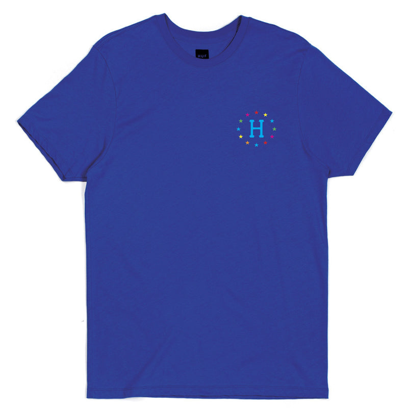 HUF - 144 Galaxies Men's Tee, Royal - The Giant Peach