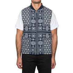HUF - Bandana Reversible Men's Vest, Navy - The Giant Peach - 5