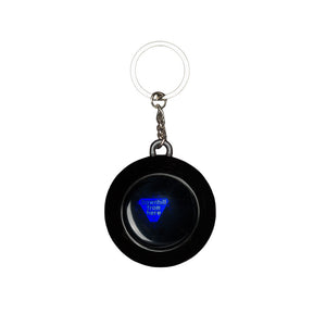 HUF - 8 Ball Keychain, Black - The Giant Peach