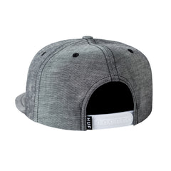 HUF - Chambray Box Logo Snapback, Black - The Giant Peach - 2
