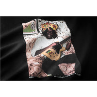 HUF - Family Acid Peter Tosh Crown Men's Tee, Black - The Giant Peach
