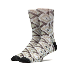 HUF - Cabazon Crew Socks, Beige - The Giant Peach