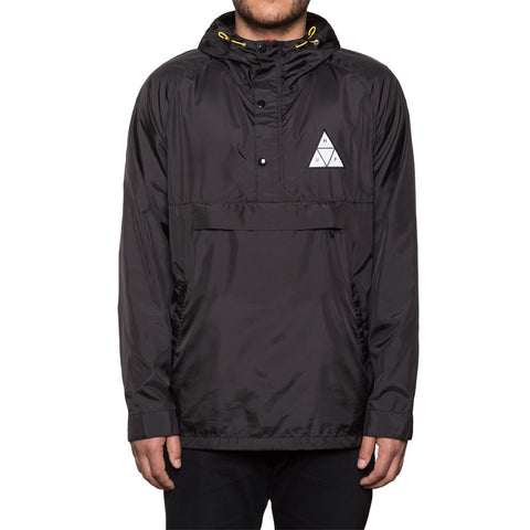 HUF - Varick Packable Men's Anorak, Black