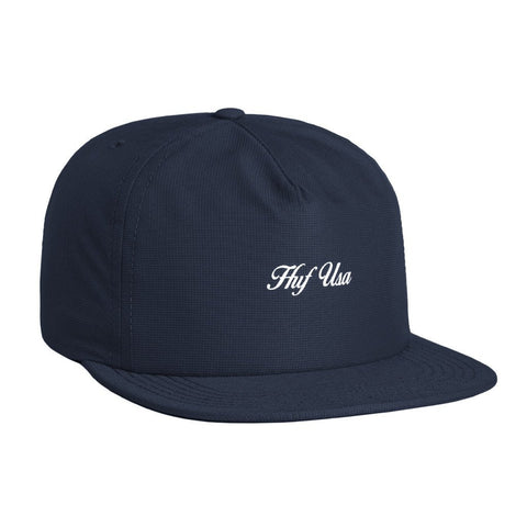 HUF USA Snapback, Navy - The Giant Peach - 1