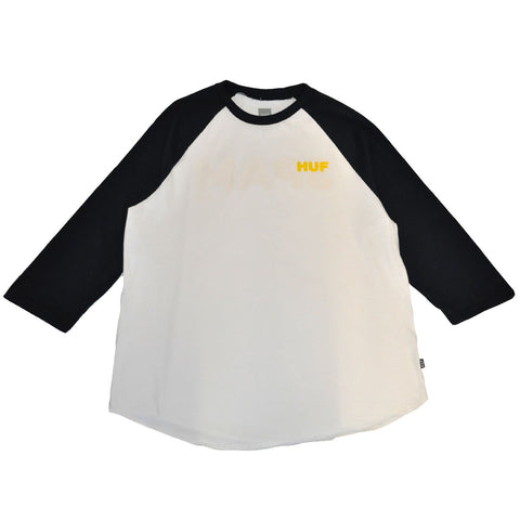 HUF - Spam Men's Raglan Tee, White
