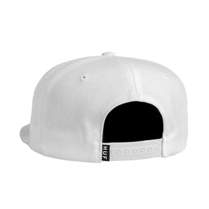 HUF - Rose Snapback, White - The Giant Peach