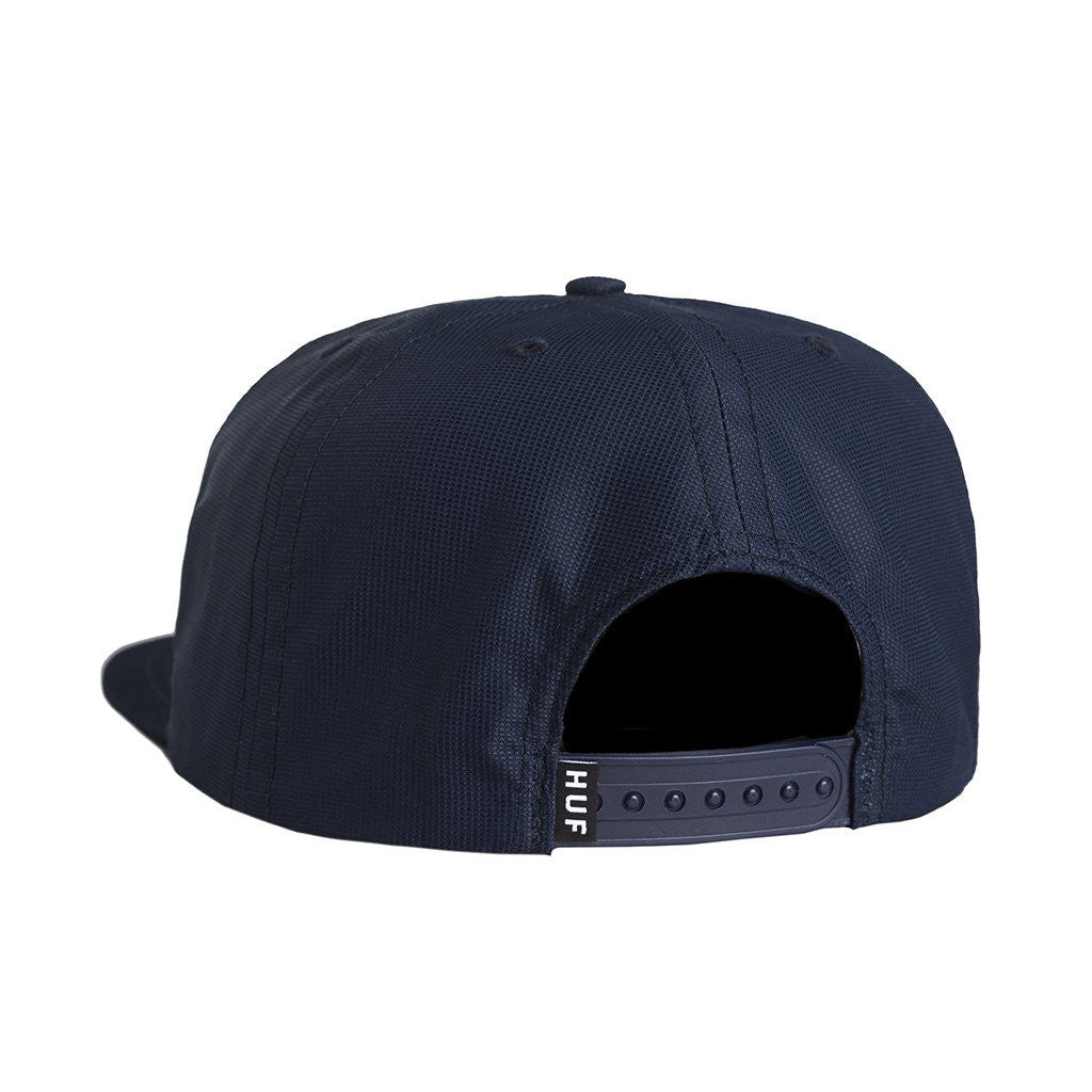 HUF USA Snapback, Navy - The Giant Peach - 2