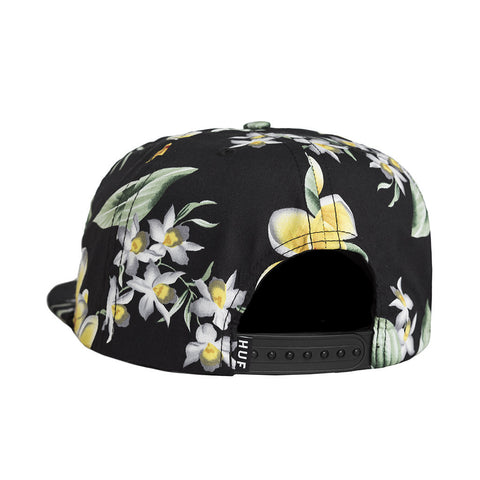HUF - Worldwide Snapback, Black