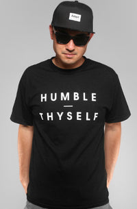 Adapt - Humble Thyself Men's Shirt, Black - The Giant Peach - 1