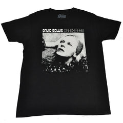 David Bowie - Hunky Dory Men's Shirt, Black - The Giant Peach