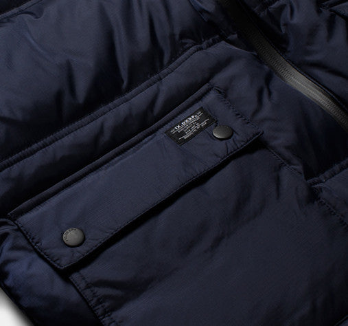 10Deep - Ice Station Bubble Snorkel Jacket, Navy - The Giant Peach - 3