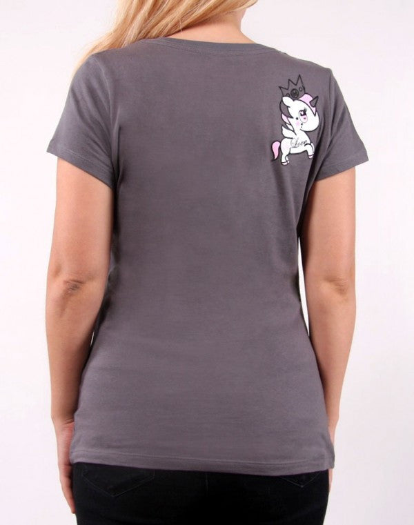 tokidoki - I Heart Unicornos Women's Tee, Storm - The Giant Peach - 2
